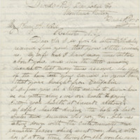 Burdess, Robert. Letter to Ward, Henry A. (1875-12-28)