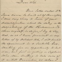 Wildeboer, A. Letter to Ward, Henry A. (1877-07-09)