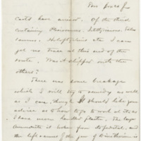 Wright, Albert A. Letter to Ward, Henry A. (1877-10-30)