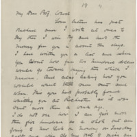Scott, William Earl Dodge. Letter to Ward, Henry A. (1881-01-15)