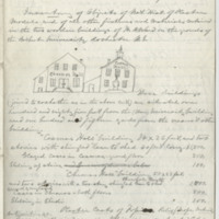 Inventory A (1869-09-03), page 1