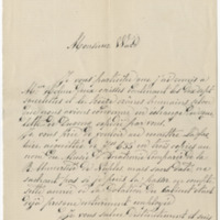 Trinchese, Salvatore.  Letter to Ward, Henry Augustus (1880-06)