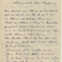 Rey & Hellwig. Letter to Ward, Henry Augustus (1876-03-19)