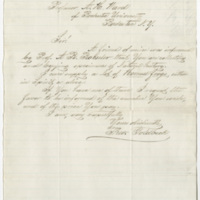 Goldbeck, Theo. Letter to Ward, Henry Augustus. (1874-05-12)