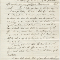 Smith, F. H. Letter to Ward, Henry Augustus (1876-03-20)