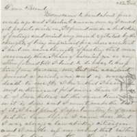 Rea, G.W. Letter to Ward, Henry A. (1875-12-26)