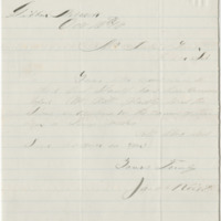 Rice, William North. Letter to Ward, Henry A. (1883-10-16)