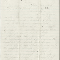 Preston, H. L. Letter to Ward, Henry A. (1881-01-18)