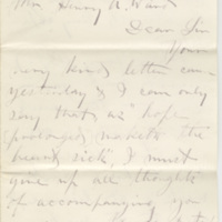 Smith, Greene.  Letter to Ward, Henry Augustus (1873-08-24)