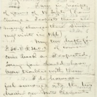 Smith, Courtenay C. Letter to Ward, Henry A. (1875-12-04)
