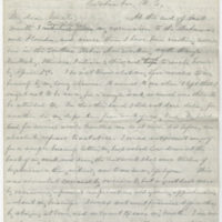 Ward, Henry Augustus. Letter to Ward, Levi. (1874-03-12)