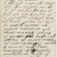 Hannah, W. C. Letter to Ward, Henry Augustus (1873-08-24)