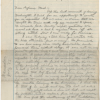 Hornaday, W. T.  Letter to Ward, Henry Augustus. (1883-07-05)