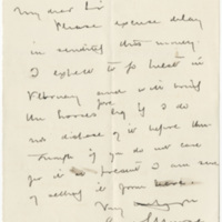 Morse, E. S. Letter to Ward, Henry A. (1876-12-26)