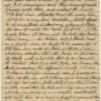 Howell, Edwin. Letter to Ward, Henry A. (1881-04-14)
