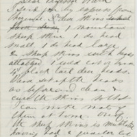 Dunraven. Letter to Ward, Henry Augustus. (1873-12-18)