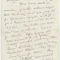 Grote, Augustus Radcliffe. Letter to Ward, Henry Augustus (1879-12-16)