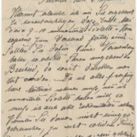Putze, H. Letter to Ward, Henry A. (1883-05-01)