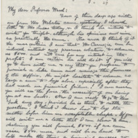 Hornaday, W. T. Letter to Ward, Henry Augustus. (1883-01-24)