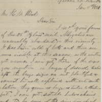 Venable, C. Letter to Ward, Henry A. (1881-01-11)