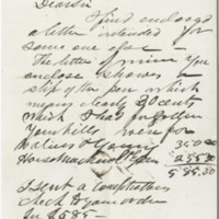 Hall, James. Letter to Ward, Henry A. (1875-12-01(?))