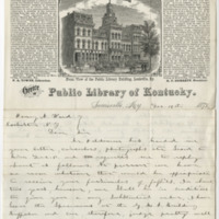 Towne, P. A. Letter to Ward, Henry Augustus. (1873-12-19)