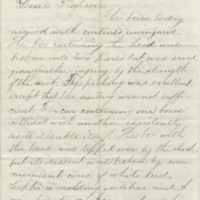Gilbert, Karl. Letter to Ward, Henry A. (1864-06-21)