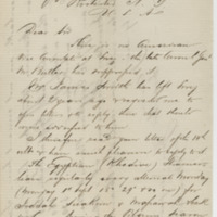 Mahoreich, E. Letter to Ward, Henry Augustus (1873-08-24)