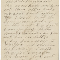 Hannah, W. C. Letter to Ward, Henry Augustus. (1873-12-24)