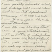 Curtis, Jose R. Letter to Ward, Henry A. (1881-01-18)