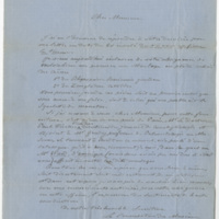 Souverbie, Saint-Martin. Letter to Ward, Henry Augustus. (1873-10-08)