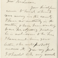 Allen, J. A. Letter to Ward, Henry Augustus (1876-09-08)