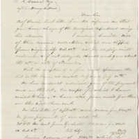 Jackson, P. V. Letter to Ward, Henry A (1876-10-23)