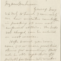Allen, J. A. Letter to Lucas, Frederic A. (1881-05-31)