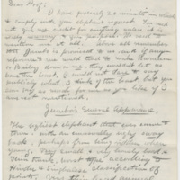 Hornaday, W. T. Letter to Ward, Henry A. (1882-09)