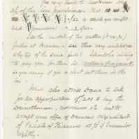 Silliman, Benjamin, Jr.  Letter to Ward, Henry A. (1862-07-16), page 1