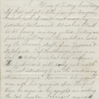 Gilbert, Karl. Letter to Ward, Henry A, (1864-06-13)