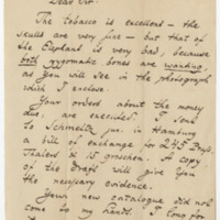 Hyrtl, Josef.  Letter to Ward, Henry A. (1873-08-03)