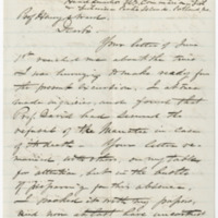 Holder, Joseph B. Letter to Ward, Henry Augustus. (1873-07-29)