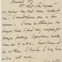 Damon, Robert. Letter to Ward, Henry A. (1876-11-16)