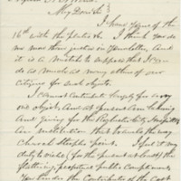 Erickson, Aaron. Letter to Ward, Henry A. (1864-06-17)